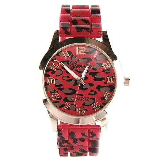 Reloj leopardo Geneva mujer My-Montre
