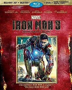 Iron Man 3 [Blu-ray 3D + Blu-ray + DVD + Digital Copy] (Bilingual)