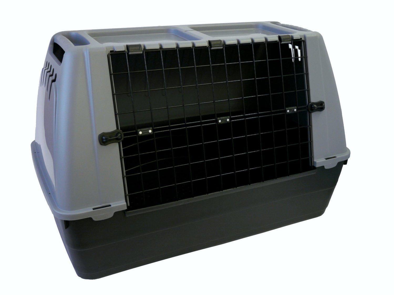 Trasportino cani Bracco 80 cane per auto box cuccia animali e gatti plastica ornisud