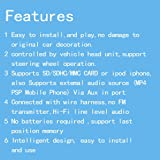 Moonet Car USB/SD Mp3 Player Interface AUX in