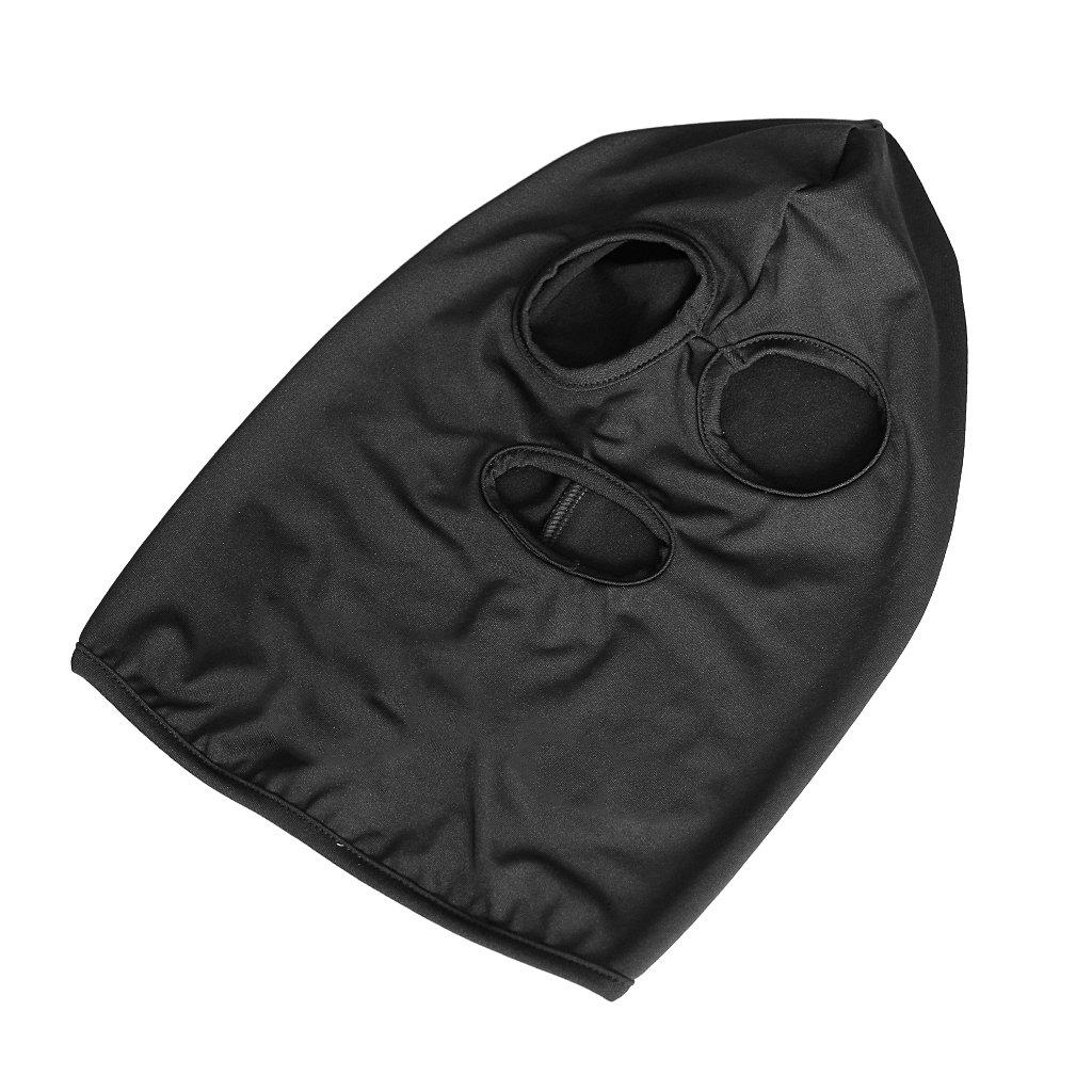 Jili Online Outdoor Sports Full Face Mask 3 Holes Hat Headwear Cycling Skiing Neck Hood