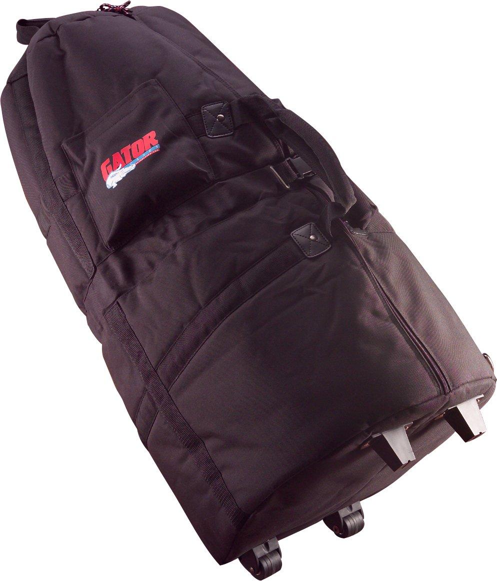 Gator Cases Padded Rolling Conga Bag (Black) GP-CONGA-W