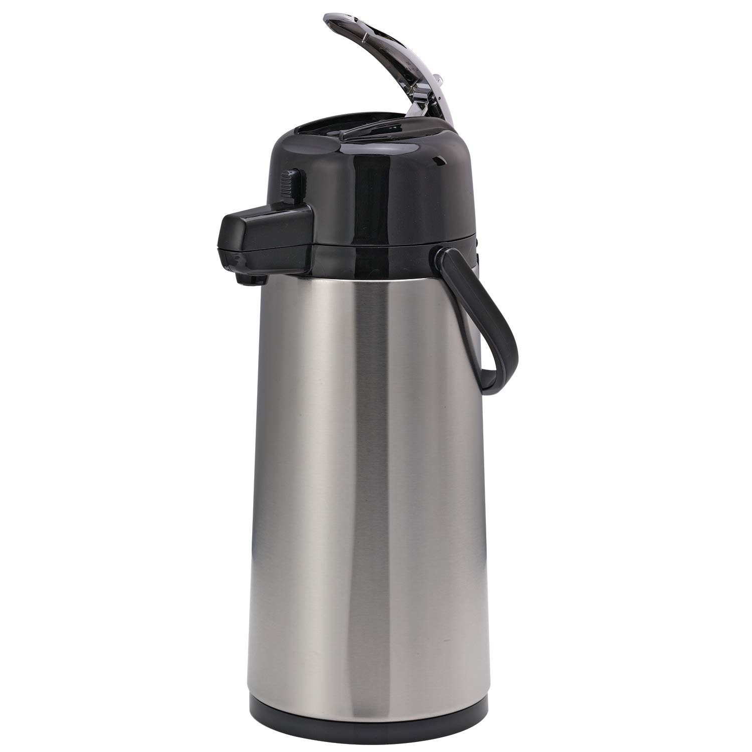Service Ideas ECAL19S Eco-Air Airpot with Lever lid, 1.9L, Glass Lined