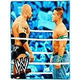 WWE Wrestling Brawl Throw - The Rock and John Cena