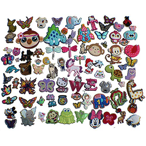 20pcs Animal embroidery Patches Iron On Appliques(Random,different batches of different styles) by FJTANG