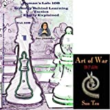 Roman's Labs Chess Vol. 108: Strategy Behind Learning Tactics Easily Explained Chess DVD & ChessCentral's Art of War E-Book (2 Item Bundle)
