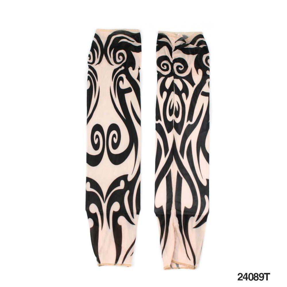1 par tribal nylon tatuaje de-mangas y diseño de - innovadora le ...