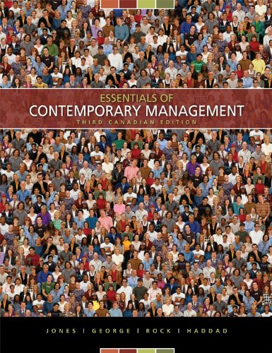 Essentials of Contemporary Management, Third CDN Edition