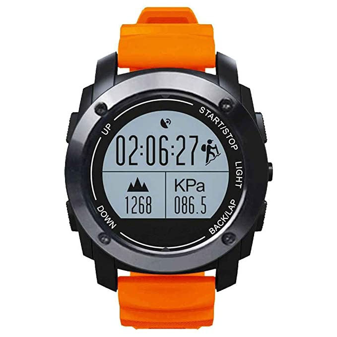 Impermeable Smartwatch, HD Bluetooth Smart muñeca reloj ...