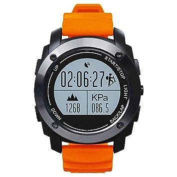 Impermeable Smartwatch, HD Bluetooth Smart muñeca reloj deportivo cámara iOS Android, actividad Tracker impermeable reloj inteligente, Active Tracker reloj: ...