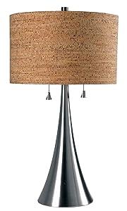 Kenroy Home 32092BS Bulletin Table Lamp