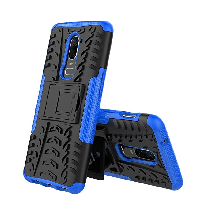 1 opinioni per CMID Cover OnePlus 6, Tough High Impact Rugged [Heavy Duty] [Non-Skid] Dual