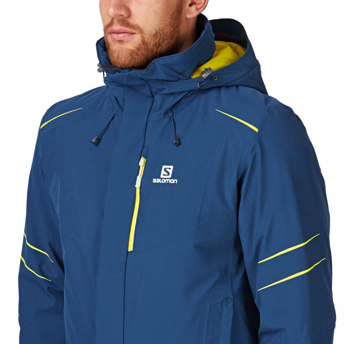 7315ed286888 Salomon Icestorm Jacket M Snow Jacket - Midnight Blue  Amazon.ca  Clothing    Accessories