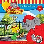 Der Zoo zieht um (Benjamin Blümchen 38)   Elfie Donnelly