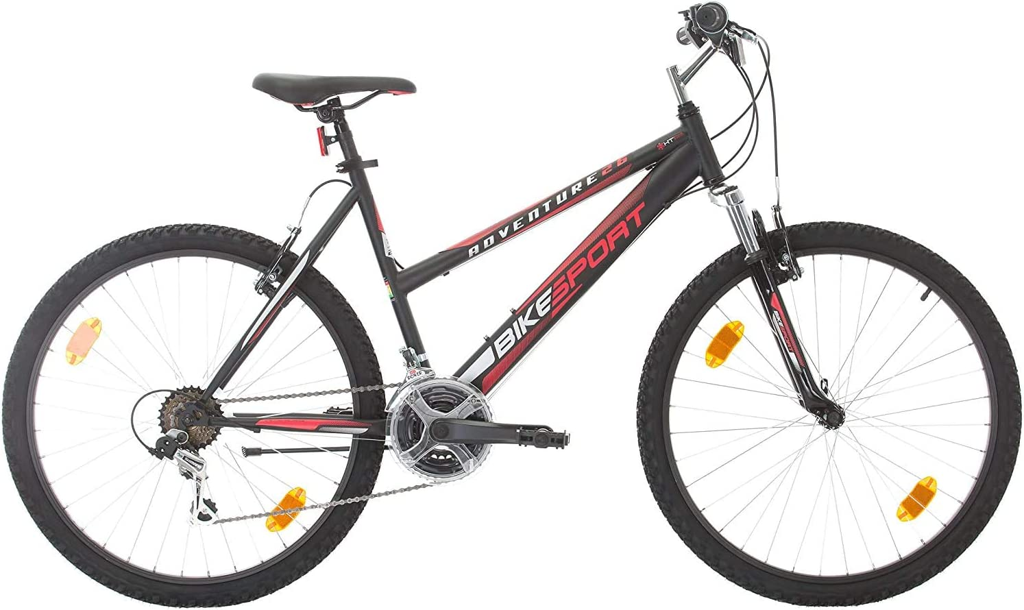 26 pulgadas Bike Sport Adventure - Bicicleta para joven, mujer Mountain Bike , 18 velocidades Shimano: Amazon.es: Deportes y aire libre