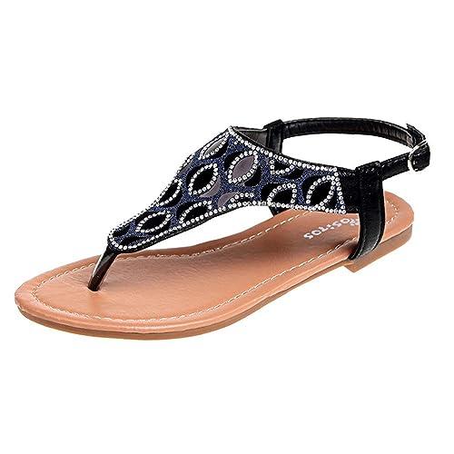 1c39accb6e46 Women s Bohemia Flat Sandals