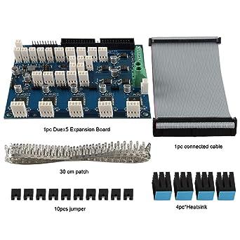 FYSETC Impresora 3D CNC Máquina Controlador Piezas, Clonado Duex5 ...