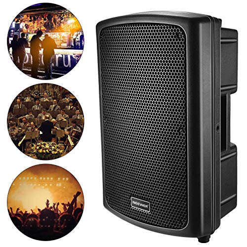 Neewer Sound Speaker Cabinet Portable Sound Audio Stereo Amp Sub for Guitar Amplifer,Conference Room,Auditorium,Concert Hall or Touring Show(180w, 16.1 x 24.8 x 12.9 inches/41 x 63 x 33 centimeters)