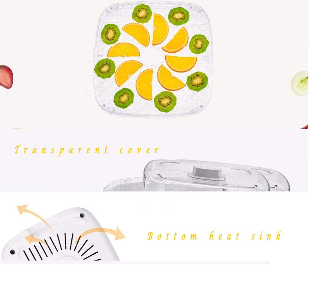 GRHGJ Secador de Frutas, 72 ° C Temperatura Constante Diseño ...