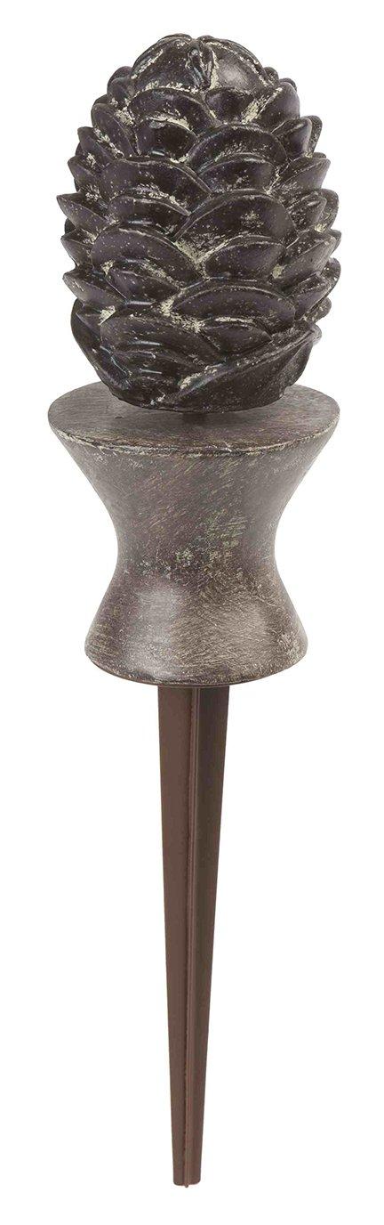 Liberty Garden Products 615 Decorative Pine Cone Garden Hose Guide - Bronze