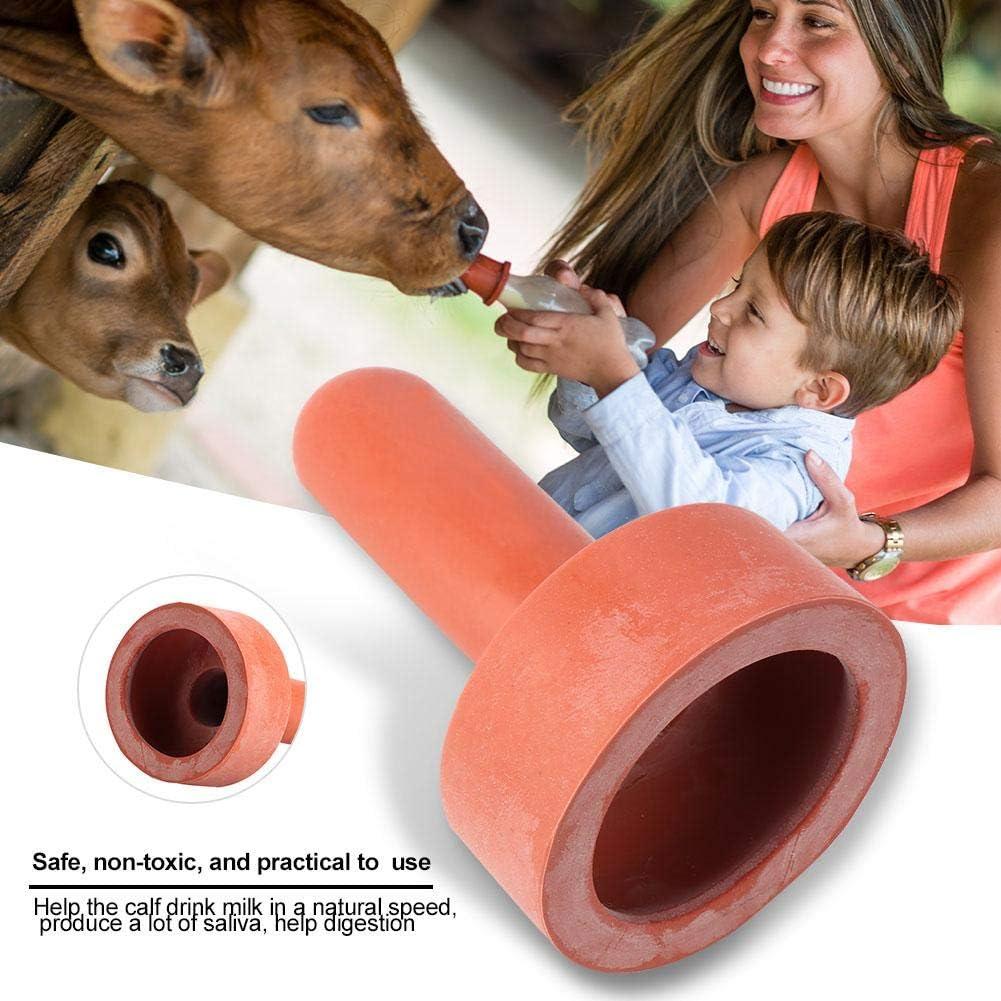 Ichiias Vache Mamelon Buveur 5 pcs Animaux de Ferme Vache Mamelon Buveur t/étine Veau biberon Eau Potable