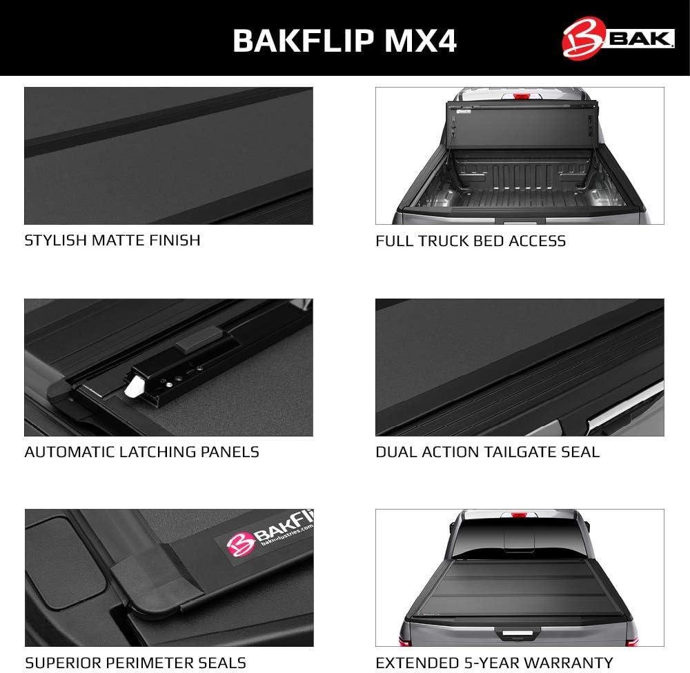 BAK 448332 Hard Folding Truck Bed Tonneau Cover