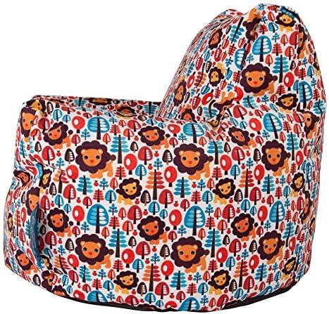Lounge Pug® - CHILDRENS Armchair - Kids Bean Bags UK - Print - Lion