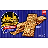 New York All Natural Flatbreads, Everything, 5 Ounce (Pack of 12)