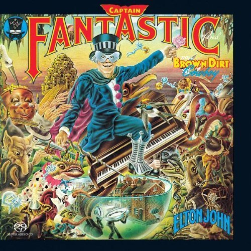 Captain Fantastic by Elton John (2004-05-03) (Captain Fantastic And The Brown Dirt Cowboy)