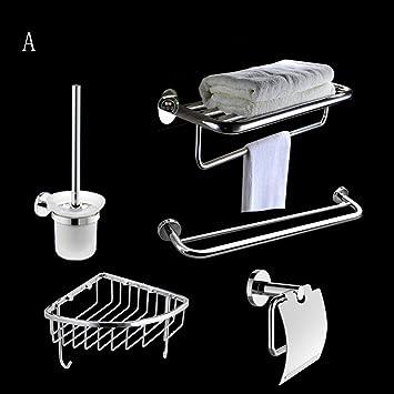 Baldas de baño Conjunto de baño toalla Rack Baño Bastidores de toallas cuarto de baño determinado