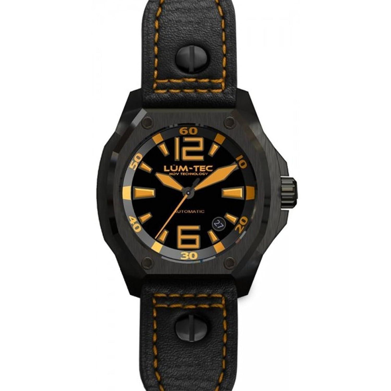 lum-tec V Series V2 Luminous Truhe Sitztruhe Technologie Automatische Herren-Armbanduhr