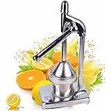 Manual Press Orange Citrus Juicer Juice Extractor Stainless Steel Fruit Processing Tool