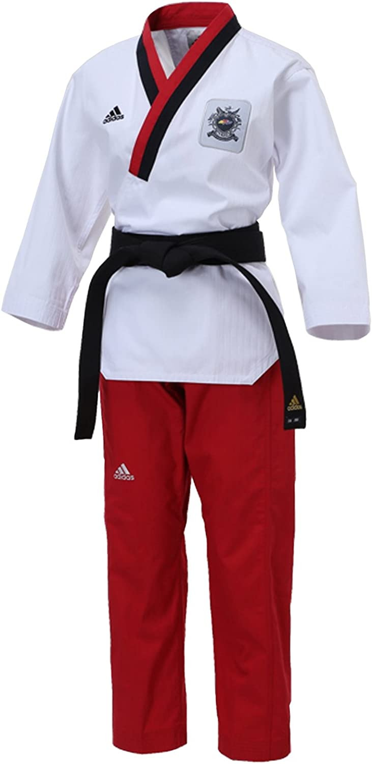 Adidas Taekwondo Poomsae Senior Adult Female Womens Gi Uniform Dobok