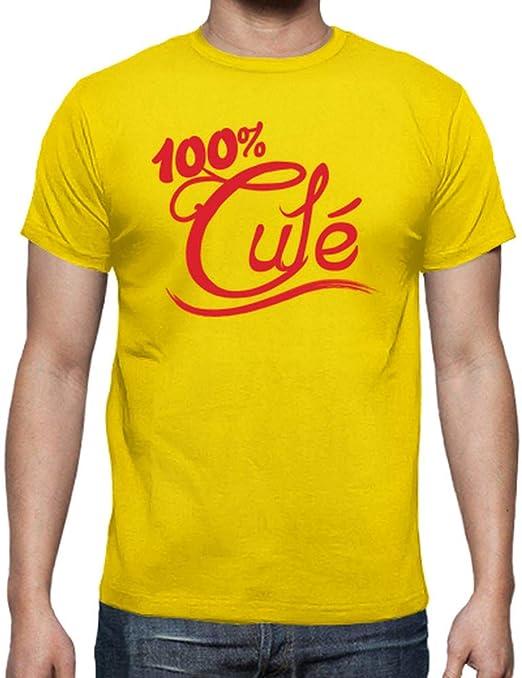 latostadora - Camiseta 100 Cule para Hombre: Amazon.es: Ropa y accesorios