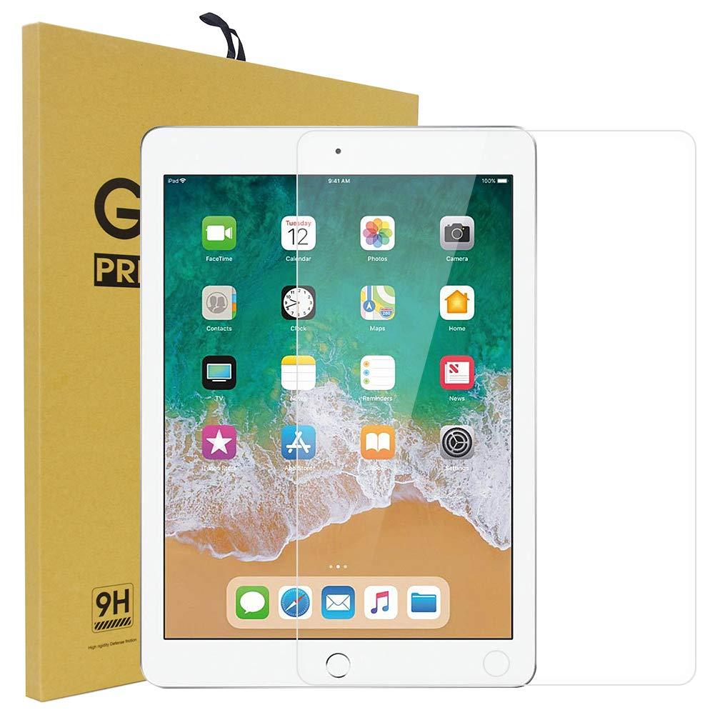 iPad Pro 12.9強化ガラス用スクリーンプロテクター 硬度9H プレミアム強化ガラススクリーンプロテクター Apple iPad Pro 12.9インチに対応   B07H995TBK