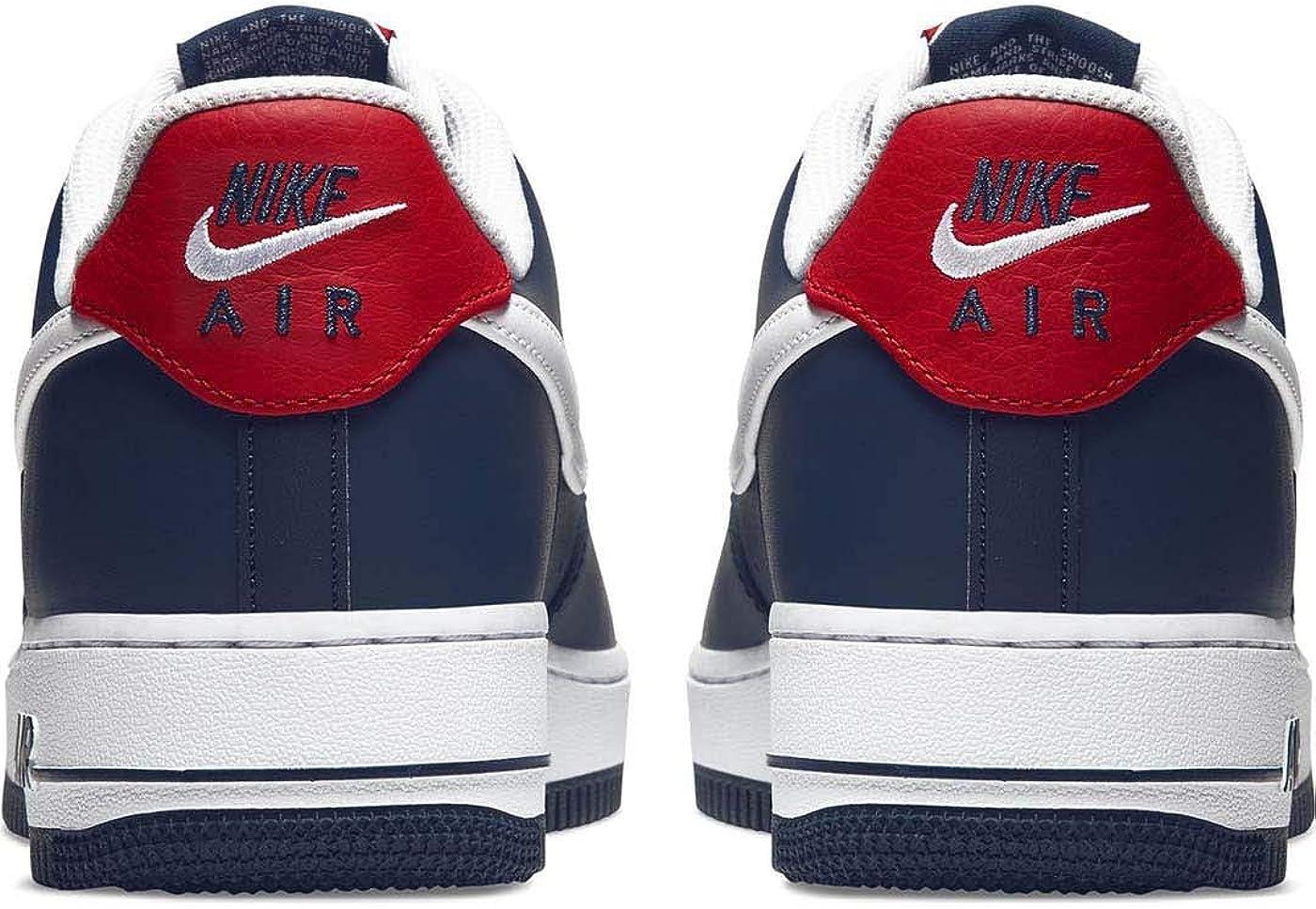 Nike AIR Force 1 '07 LV8 4 Bleu Marine: