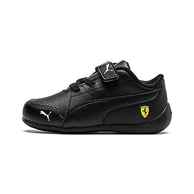 b3e4bac980c0 Puma Unisex Kid s SF Drift Cat 7 V PS Blac Sneakers  Buy Online at ...