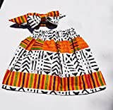 Kente skirt/African clothing/toddler clothing/toddler skirt/newborn skirt/infant skirt/African fabric