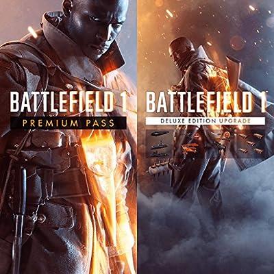 Amazon Com Battlefield 1 Premium Service And Deluxe Upgrade Ps4 Digital Code Video Games