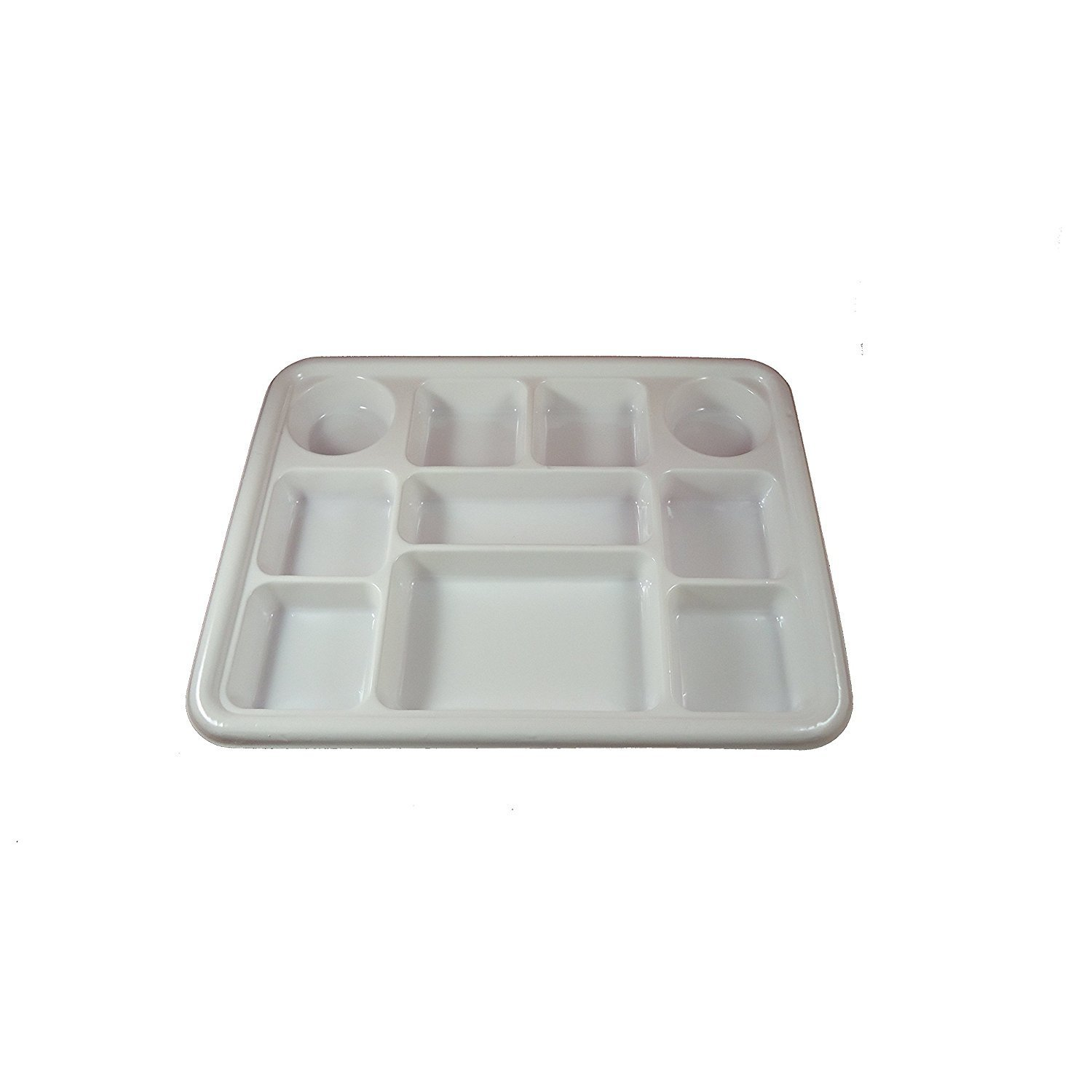 Movie Time Video Party Tray/ Thali/ Plates, 10 compartments, Disposable, 200 Count