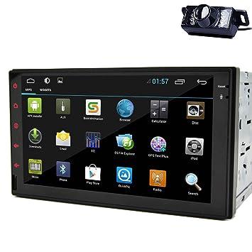 7 pulgadas Android 4.2 tableta del coche Universal Stereo Autoradio la radio de coche navegador GPS