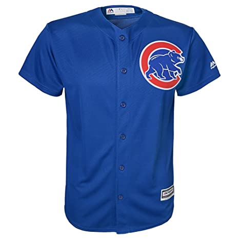 fa6ff8463 Majestic Athletic Chicago Cubs Alternate Blue Cool Base Youth Jersey (youth  large 14-16