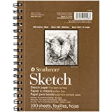 Strathmore 455-8 - Cuaderno de Dibujo, 14 x 21.6 cm, 100 hojas