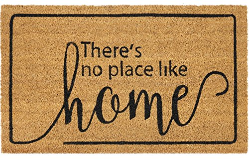 Ben & Jonah Ben&Jonah Printed Coir Door Mat 18x30-Dorothy Collection, Multi
