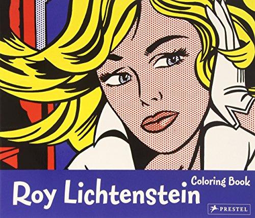 Roy Lichtenstein Coloring Book