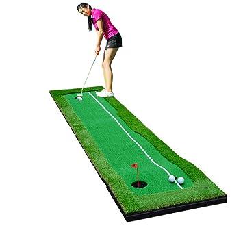 Amazon.com : 77tech Large Artificial Grass Golf Putting Green Mat ...