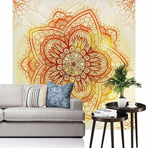 Price comparison product image Vibola Indian Mandala Tapestry Hippie Wall Hanging Tapestries Boho Bedspread Beach Towel Yoga Mat Blanket Table Cloth 150 /59''