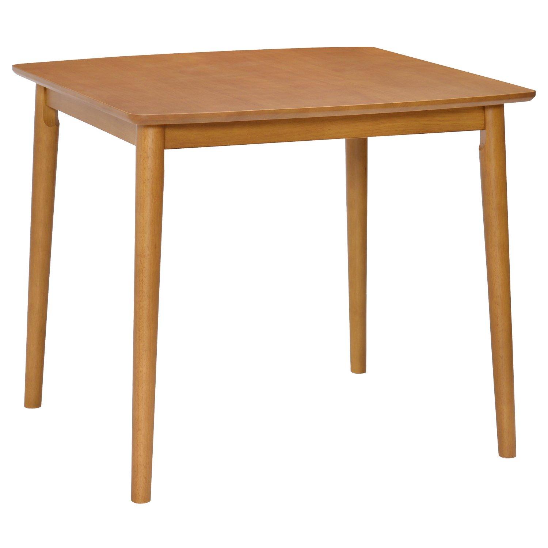 タマリビング ダイニングテーブル アーモンド 90 丸 50000587 B06WWPC796 横幅90cm丸型  横幅90cm丸型