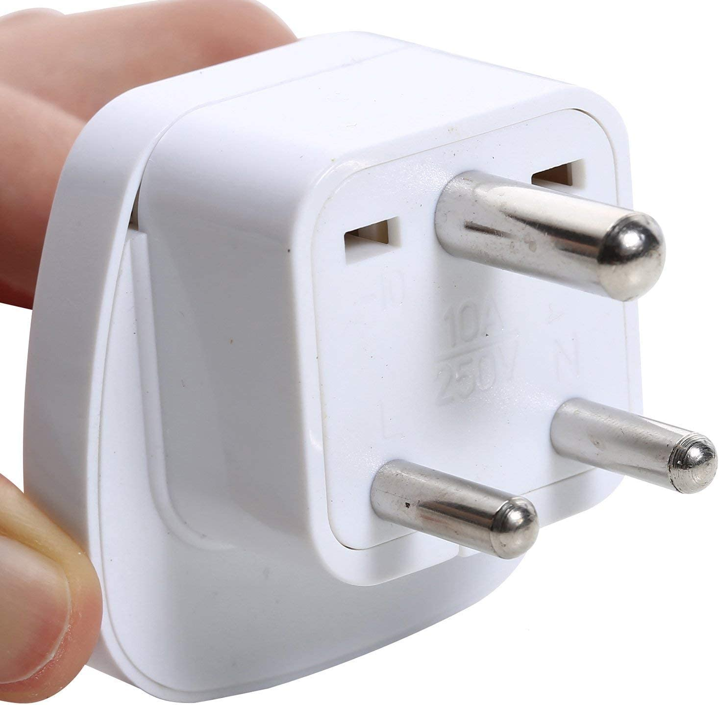 Type D Travel Plug Adapter Adaptor For India Nepal Pakistan Nepal Bhutan (pack Of 5) Mp3 Players & Accessories