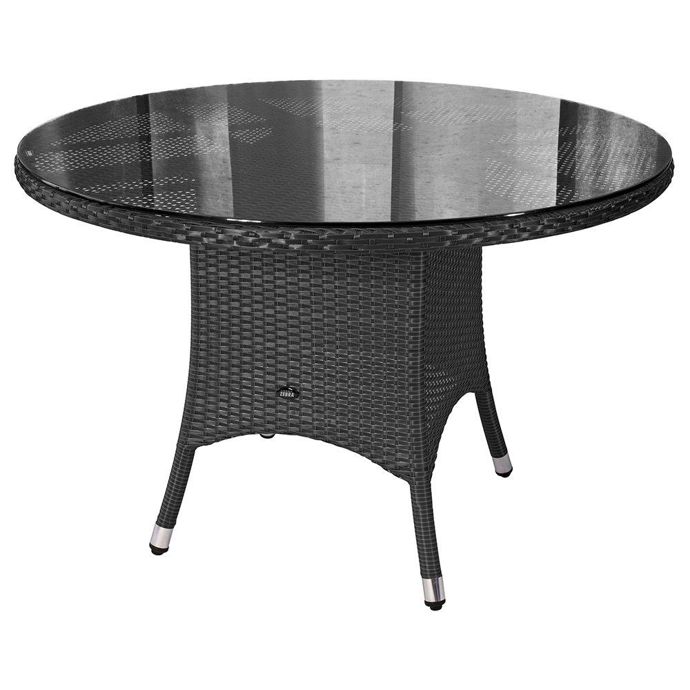 ZEBRA Tisch Mary 110 cm quarz
